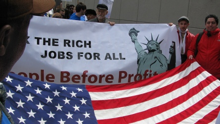 Stand up for workers' rights, jobs and peace