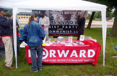 NY Communists celebrate Juneteenth at Buffalo festival