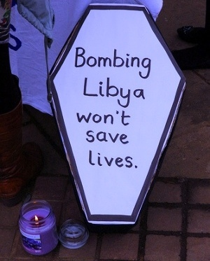 Libya: Stop the bombing, cease-fire now