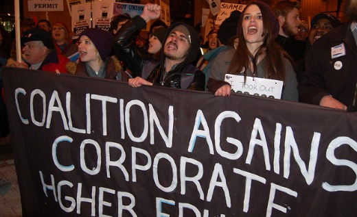 U.S. young people show their discontent with capitalism