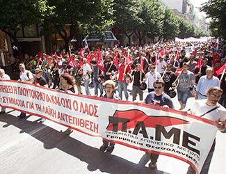 Statement of Solidarity with Greek Communists, Workers and People
