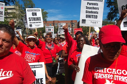 Chicago teachers strike: a fight to reclaim public education