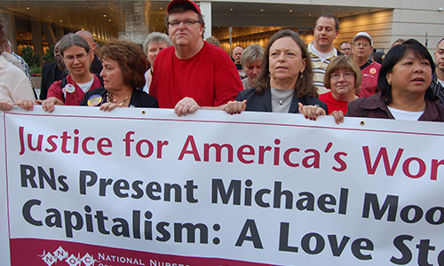 Michael Moore's 'Capitalism' is labor of love for working America