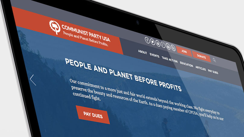 CPUSA.org featured on responsive web design podcast