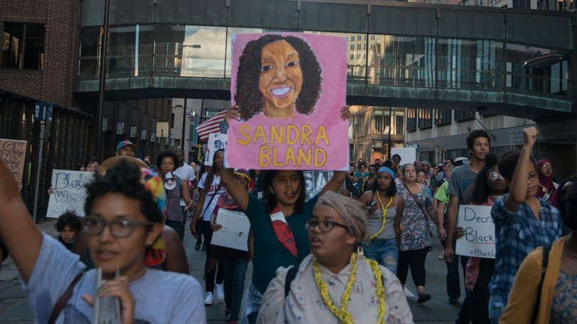 """Sandra Bland had the right to say """"no"""""""