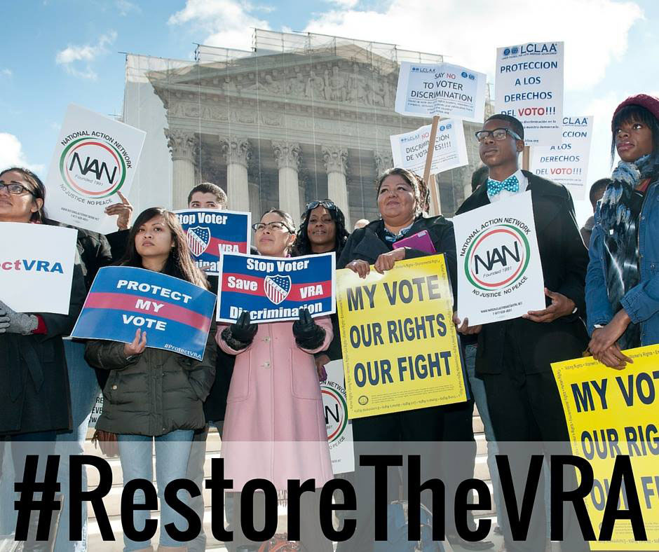 Restore voting rights!
