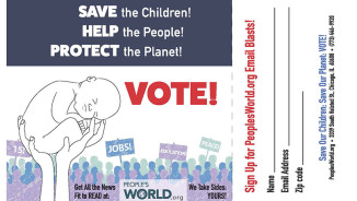 2016 Vote Card
