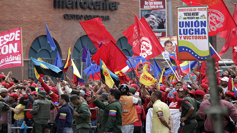 Communist Party condemns attack on President Maduro