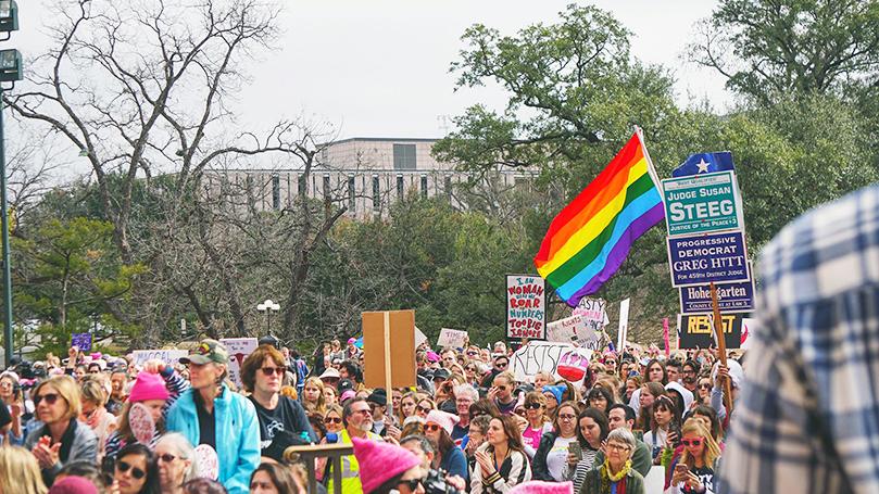 Austin Women's March vows blow to Trumpism