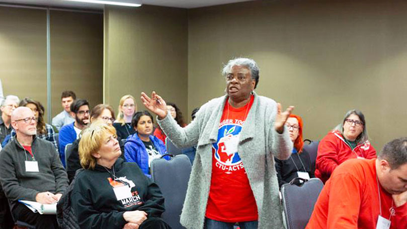 LA trade union club members learn, share, recharge at Chicago labor meet