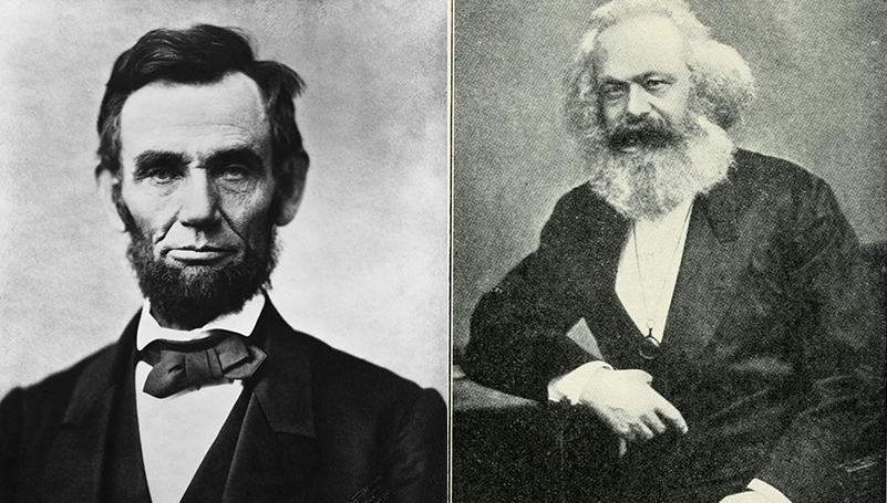 Marx and Lincoln on civil war and revolution