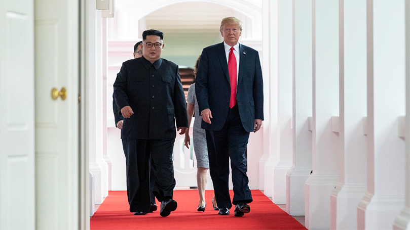 The Singapore Summit is a positive step towards peace