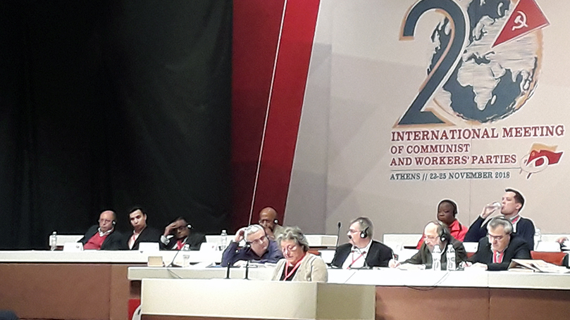 Address to 20th Meeting of Communist and Workers Parties