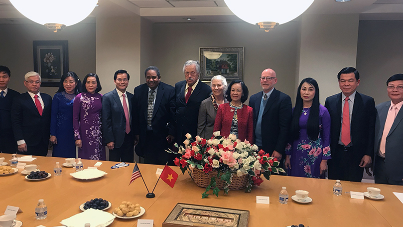 CP's of Vietnam and USA meet