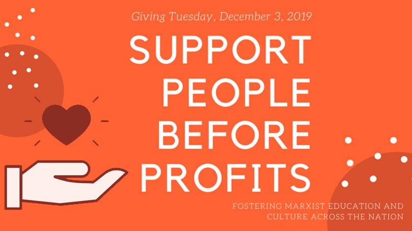 Make a gift to People Before Profits for the holidays!
