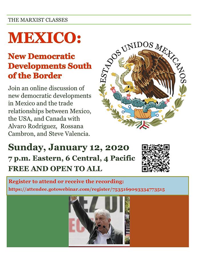 Mexico: New democratic developments south of the border