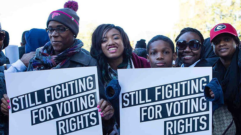 """New Haven: """"Dump Trump"""" Unity March & Voting Rights Panel"""