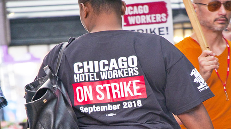 Organize! Chicago hotel housekeepers show how it's done