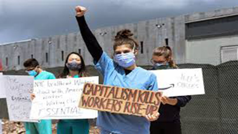 Front-line worker: Join the CPUSA and donate to the cause!