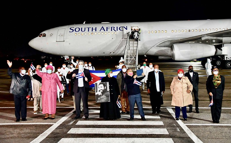 Covid-19 in South Africa: Success and neoliberal threats