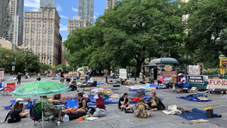 """This Week @CPUSA: Live from """"Occupy City Park""""!"""