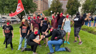 Colorado May Day Club joins protests of activists' arrests