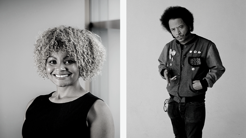 Anti-capitalism in these times: A conversation with Boots Riley and Charisse Burden-Stelly