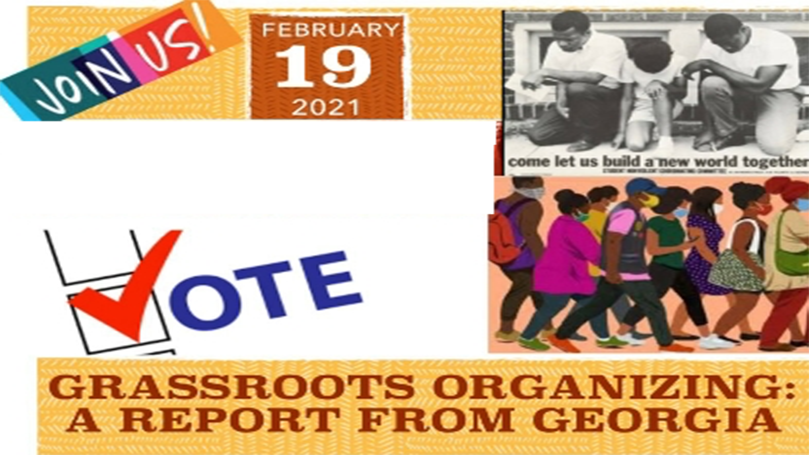 Grassroots organizing: A report from Georgia