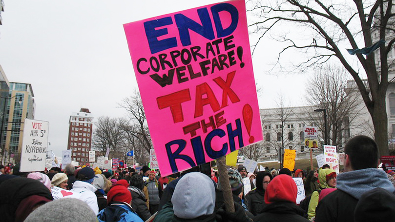 "This Week @CPUSA: Is ""trickle-down"" drying up?"