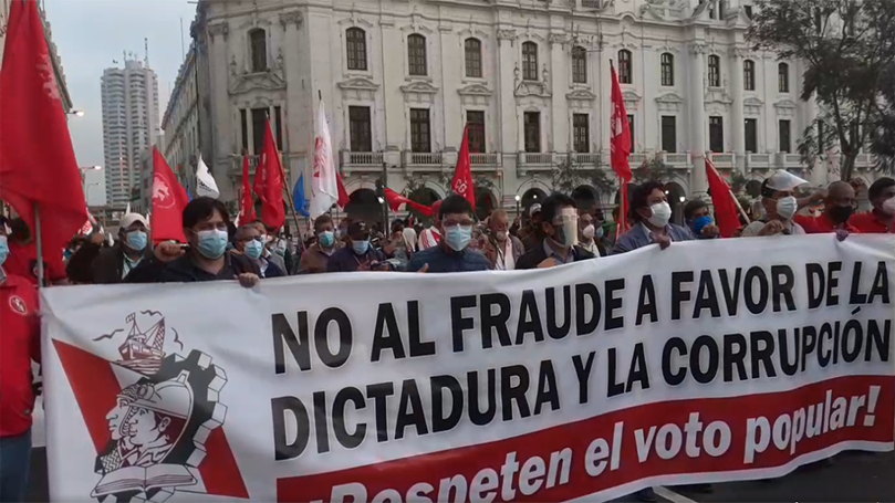 International Notes: Peruvian communists rally to protect the vote