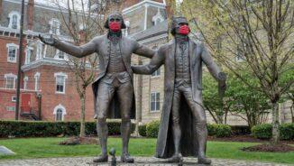 Good Morning, Revolution! The feds mask up