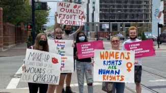"""Women say """"hell no"""" to Texas anti-abortion law"""